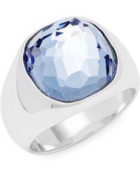 Swarovski - Crystal Solitaire Ring - Lyst
