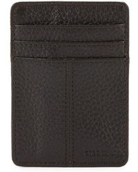 Cole Haan - Leather Textured Wallet - Lyst