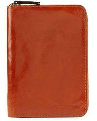 Brunello Cucinelli - Leather Zip-around Tablet Case - Lyst