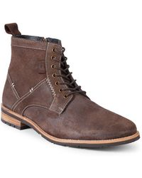 Ben Sherman - Classic Leather Boots - Lyst