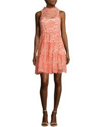 ERIN Erin Fetherston - Posie Scalloped Lace Dress - Lyst