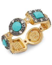 Freida Rothman - Geometric Turquoise Ring - Lyst