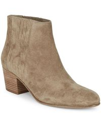 Vince - Haider Suede Ankle Boots - Lyst