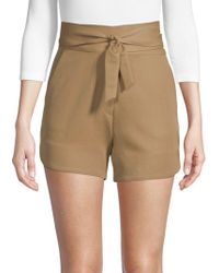 IRO - Magik Belted Shorts - Lyst