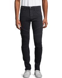 J Brand - Bearden Moto Skinny Jeans - Lyst