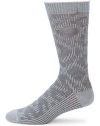 UGG - Textured Crew Socks - Lyst