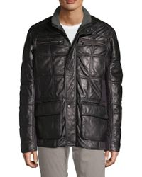 Bugatti - Classic Quilted Jacket - Lyst