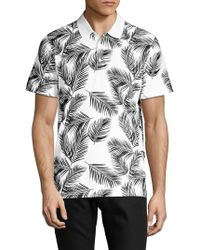 AG Jeans - Printed Short-sleeve Polo - Lyst