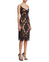 N°21 - Lace Midi Dress - Lyst