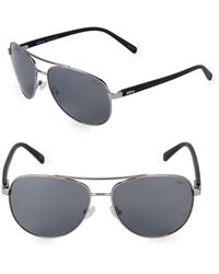 Revo - 61mm Aviator Sunglasses - Lyst