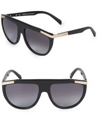 Balmain - 57mm Square Sunglasses - Lyst