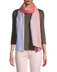 Saachi - Beautiful Ombre Wool Cashmere Scarf - Lyst