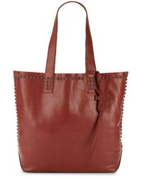 Frye - Carson Mono Stud Leather Tote - Lyst