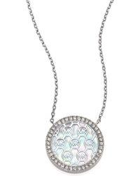 Michael Kors - Monogram Necklace - Lyst