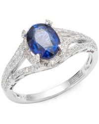 irradiated irr diamond effy ring blue rings product white dia gold