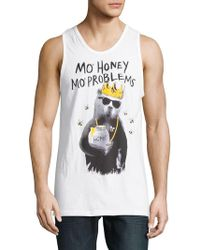 Riot Society - Graphic-print Roundneck Tank Tee - Lyst