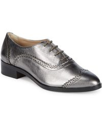 Saks Fifth Avenue - Brody Leather Wingtip Oxfords - Lyst