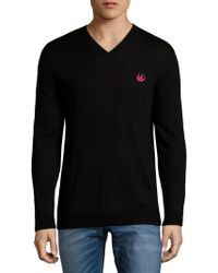 McQ - V-neck Wool Sweater - Lyst
