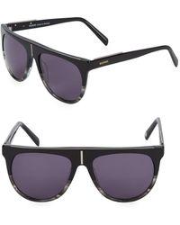 Balmain - 57mm Cateye Sunglasses - Lyst