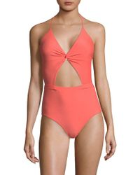 6 Shore Road By Pooja - Divine One-piece Cutout Swimsuit - Lyst