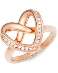 Swarovski - Cupidon Crystal Ring - Lyst