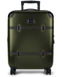"""Bric's Bellagio 21"""" Carry-on Spinner Trunk - Green"""