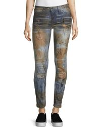 Robin's Jean - Distressed Jeans - Lyst