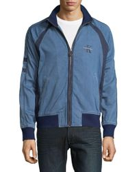 Calvin Klein - Full-zip Denim Jacket - Lyst