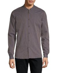 The Kooples - Striped Button-down Shirt - Lyst