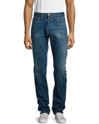 Shockoe Atelier - Standard Whiskered Cotton Jeans - Lyst