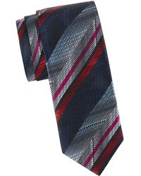 Missoni - Optical Stripe Silk Tie - Lyst