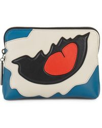 3.1 Phillip Lim - 31 Second Leather Patchwork Clutch - Lyst
