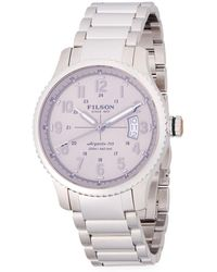 Filson - Mackinaw Stainless Steel Bracelet Watch - Lyst