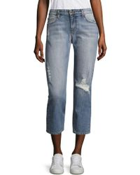 Joe's Jeans - Exclusive Ex Lover Distressed Slouchy Ankle Jeans - Lyst