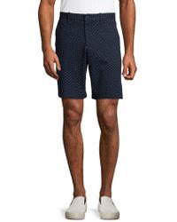 Perry Ellis - Dot-print Stretch Shorts - Lyst