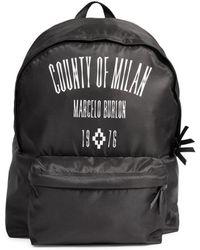 Marcelo Burlon - Nylon Backpack - Lyst