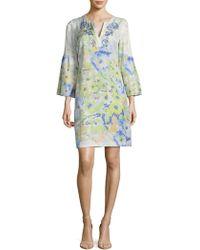 Robert Graham - Alora-floral Print Shift Dress - Lyst