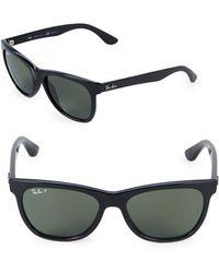 Ray-Ban - Logo Wayfarer Sunglasses - Lyst