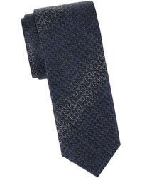Missoni - Baskeweave Gradient Silk Tie - Lyst