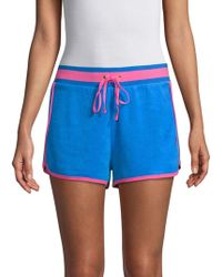 Juicy Couture - Two-tone Drawstring Shorts - Lyst