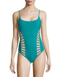 Red Carter - Classic Cutout One-piece Swimsuit - Lyst