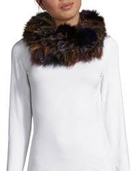 Annabelle New York - Dyed Fox Fur Scarf - Lyst