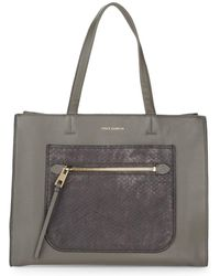 Vince Camuto - Elvan Leather Tote - Lyst