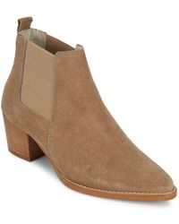 Kenneth Cole - Russie Pointed Booties - Lyst