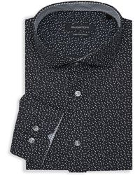 Bugatchi - Star-print Dress Shirt - Lyst