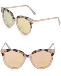 Fantaseyes - 51mm Butterfly Sunglasses - Lyst
