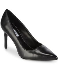 Charles David - Denise Leather Court Shoes - Lyst