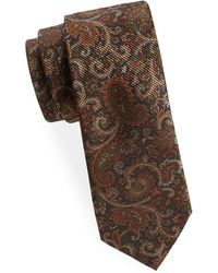 Saks Fifth Avenue - Antique Paisley Silk Tie - Lyst