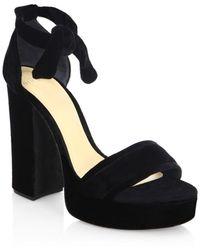 Alexandre Birman - Celine Platform Sandals - Lyst