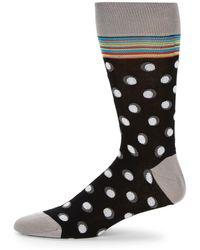 Bugatchi - Printed Mid-calf Socks - Lyst